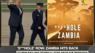 Zambia hits back at Donald Trump