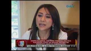 24 Oras: Cebu Gov. Gwen Garcia, nasuspinde dahil sa pang-aabuso raw sa kapangyarihan