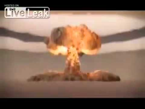Tsar Bomba 50 Megaton Russian Hydrogen Nuclear Bomb Detonation