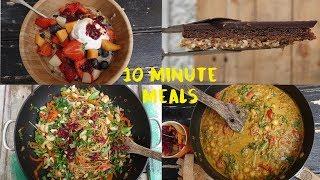 4 Delicious Ten Minute Meals That Happen to be Vegetarian