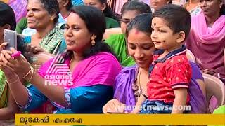 Chengannur by-election:  MLA Mukesh join LDF campaign