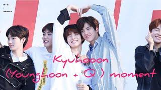 THE BOYZ (더보이즈) KYUHOON/YOUNGKYU (YOUNGHOON + Q) CUTE MOMENT