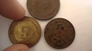 Monedas de Pancho Villa Revolucion Mexicana Numismatica Méxicana