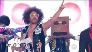 LMFAO - Party Rock Anthem / Sorry For Party Rocking / Sexy and I Know It HD (Live Billboard 2012)