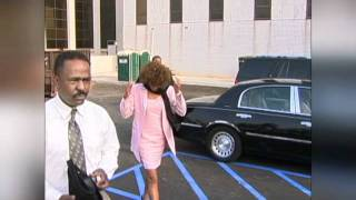 Whitney Houston and Bobby Dekalb Courthouse 2003