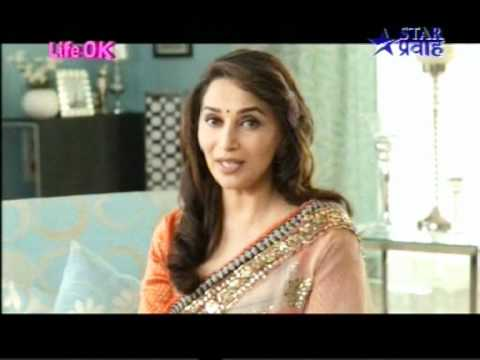 Madhuri Dixit on a new entertainment channel - LifeOK