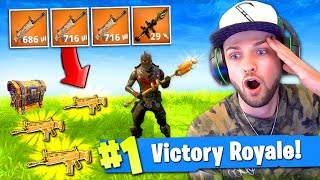 The LEGENDARY LOAD-OUT in Fortnite: Battle Royale!