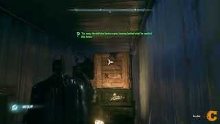 Far away the deflated brute roams - Riddler Solution - Arkham Knight