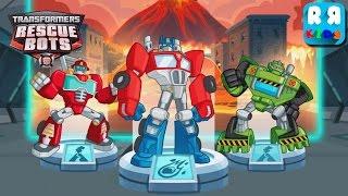 Transformers Rescue Bots: Disaster Dash - Rescue Volcano Lava