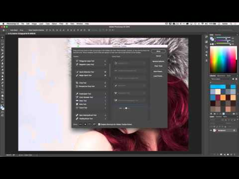 How to Customize the Tool Panel in Adobe Photoshop CC