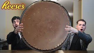 EATING THE WORLDS BIGGEST REESE