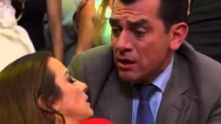 Ana se desmaya en la boda de Jennifer y fernando esta con ella