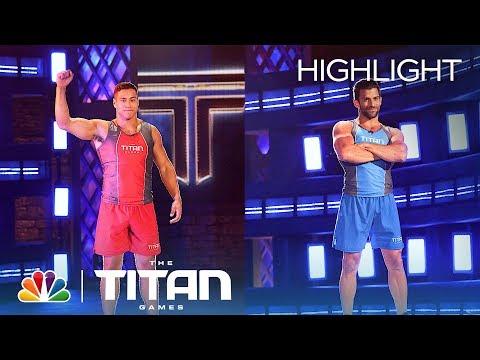 Xxx Mp4 Dwayne Johnson Motivates Bridger Buckley And Robbie Strauss On Hammering Ram Titan Games 2019 3gp Sex