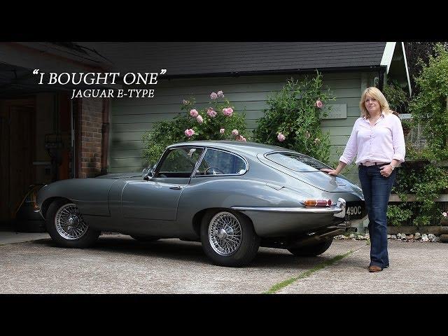 Jaguar E-Type Series One - I Bought One | Sarah Dowding