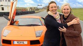 Lamborghini Murcielago With Vicki