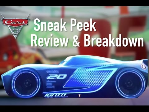 Cars 3 New Official Sneak Peek Review Breakdown & Speculation