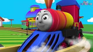 Train Toys - Cartoon for Kids - Kids Entertainment - Train Videos - Thomas & Friends - Chu Chu Train