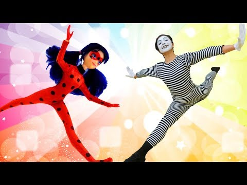 Miraculous Ladybug in Real Life. Funny videos.
