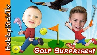 We Play Mini GOLF and Win Surprises!