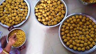 Indian Sweet -Boondi  Laddu  Recipe - How To Make Laddu