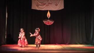 Diwali Entertainment Show 13/11/12 - Kuchipudi Dance