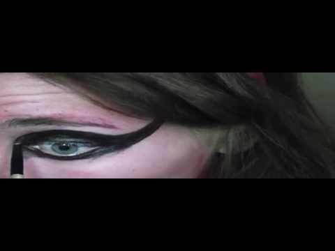 Maquillaje de diablesa rapido