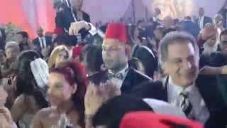 اتفرج على رقص سمية الخشاب وايهاب توفيق فى فرح بنت فيفى عبده