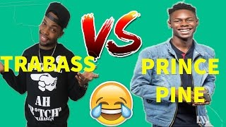 PRINCE PINE VS TRABASS | TRY NOT TO GRIN OR LAUGH | VINERS SHOWDOWN