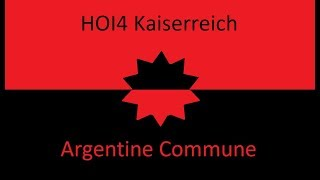 HOI4 Kaiserreich Argentine Commune EP2 - Invading Paraguay