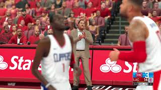 2021-2022 Pistons vs Clippers