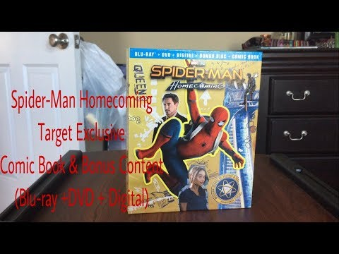 Xxx Mp4 Spider Man Homecoming Target Exclusive Comic Book Bonus Content Blu Ray DVD Digital Review 3gp Sex