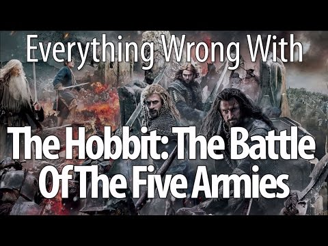 Everything Wrong With The Hobbit The Battle Of The Five Armies