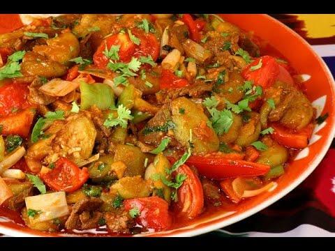 Тушеная говядина с овощами пошаговый рецепт с