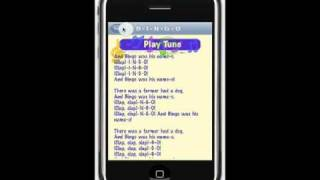 SING ALONG iPhone App Demo