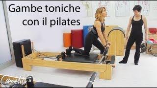 Barbara d'Urso - Glutei sodi con il pilates