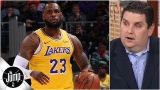 LeBron is completely out of his normal routine - Brian Windhorst    The Jump