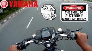 2 STROKE MADNESS!!! | 1991 Yamaha RX100