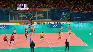 (HD) 2008 Olympic Volleyball Highlights