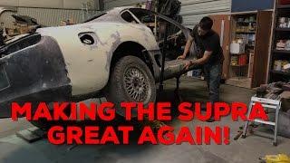 Pt.6 MKIV Supra Project! | More Bodywork!