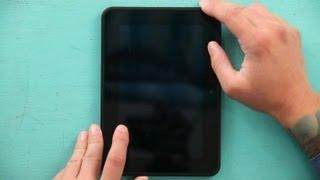 How to Fix a Scrambled Kindle Screen : Kindle Tips