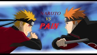 Naruto Shippuuden AMV Naruto vs Pain:Leave Out All The Rest {Linkin Park}