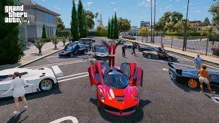 GTA 5 REAL LIFE MOD#106-SUPERCARS MEET