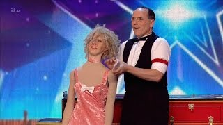 Scott and Muriel - Britain's Got Talent 2016 Audition week 5