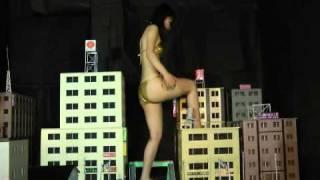 Giantess ARISA Sample Movie Giantess crush 巨大娘