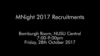 NEMN 2017 Recruitment Promo