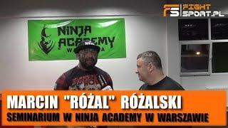 Marcin Różalski w Ninja Academy o: młodzieży, pomocy Materli, powrocie do KSW, Polakach w UFC