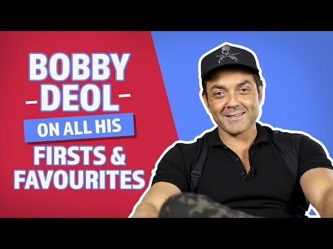 Xxx Mp4 Bobby Deol On All His Firsts Favourites Pinkvilla Race 3 Yamla Pagla Deewana Phir Se 3gp Sex