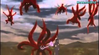 Naruto VS Jinchurikis .......!!!!!!!! Bijuus
