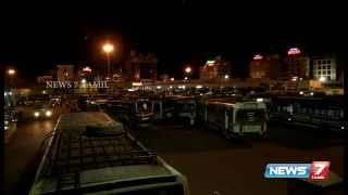 Mid Night Life at Trichy Bus Stand