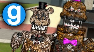 IGNITED NIGHTMARE ANIMATRONICS PILL PACK SHOWCASE - Five Nights at Freddy's Gmod